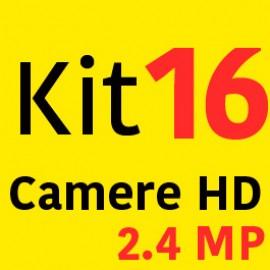 Sistem Supraveghere HD 16 Camere 2000LTV 2.4MP + Instalare Autorizata