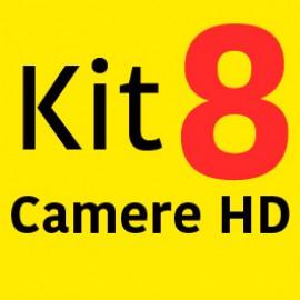 Sistem Supraveghere HD cu 8 Camere + Instalare Autorizata